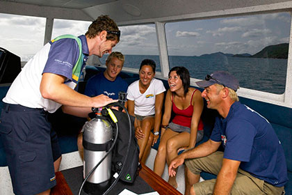 Cairns Introductory Dive Trips