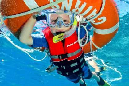 Child snorkel tour Cairns