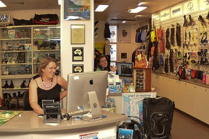 Great Barrier Reef Dive Shop Cairns
